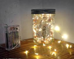 lighting in a jar. In A Jar; VALUE PACK Fairy Lights For Mason Jars And Centerpieces. You Photo Details - From These Lighting Jar