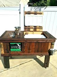 diy outdoor ice chest patio ice chest ideas patio coolers with stands or patio cooler ice diy outdoor ice chest wood
