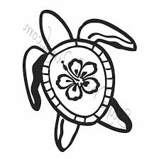 Hawaiian Flower Coloring Page 2362837