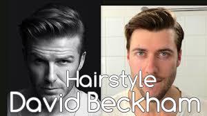 David Beckham Undercut Hair For H M Campaign