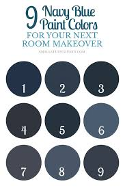 best navy blue paint colorNavy Paint Colors  Home Design