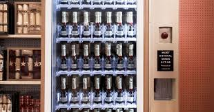 Moet Champagne Vending Machine Magnificent Moet Chandon Champagne Vending Machine Installed At Selfridges On