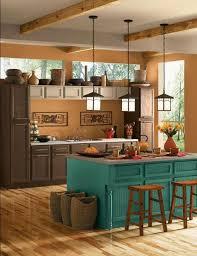 Beautiful kitchen design in Mediterranean style