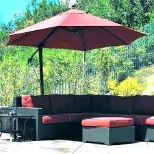 stand alone outdoor umbrella small patio table