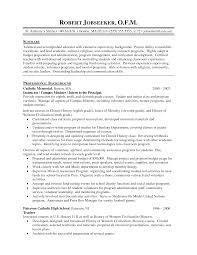 Sample Resume Of A Teacher In High School Resume For Study