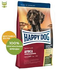 <b>Happy Dog Supreme</b> Sensible Africa food for adult dogs of all ...