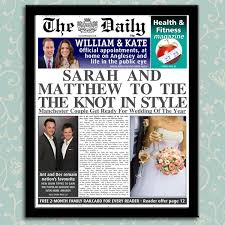 Spoof Newspaper Template Free Personalised Spoof Newspapers Make The Headlines In Your Own Paper