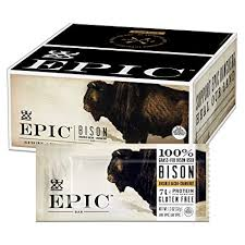 EPIC Bison Bacon Cranberry <b>Bars</b>, Grass-Fed, Paleo Friendly, 12 Ct ...