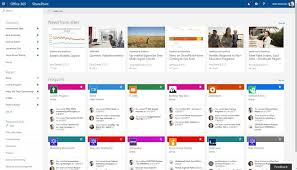 Micro Soft Home Page Sharepoint Improves Office 365 Home Page Adds News To Ios And