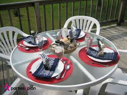 Nautical Table Settings Tablescape Nautical Tablesetting Parties2plan
