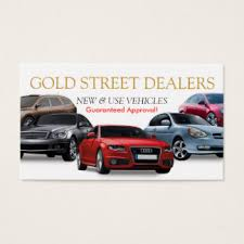 Auto Dealer Business Cards & Templates | Zazzle
