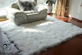 Faux Bearskin Rug Decorating Gorgeous Faux Animal Skin Rugs For Living Room