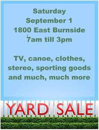 Yard Sale Flyer Template Word Garage Sale Flyer Template Word 16