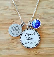 brilliant push present necklace new mom gift mommy birthstone jewelry for idea initial diamond tiffany pearl pendant engraved