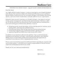 Bold Idea Cover Letter Graphic Design 2 Best Designer Examples