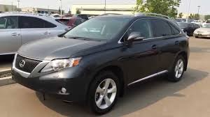 2014 Lexus Rx 350 Color Chart Pre Owned Grey On Black 2010 Lexus Rx 350 Awd Premium Package 2 Review Camrose Alberta