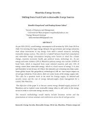 energy security from fossil fuels towards renewable   energy security from fossil fuels towards renewable energies