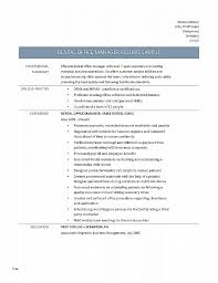 Resume. Best Of Dental Resume Template: Dental Resume Template ...