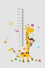 Growth Chart Child Wall Decal Nursery Png Clipart Animals