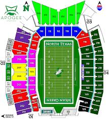 Ut Texas Football Stadium Seat Chart Tickets And Parking Mean Green Scholarship Fund