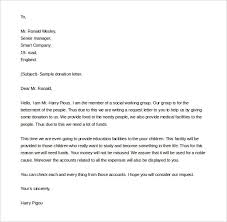 donation letter for non profit how to write a non profit donation letter www jobssingapore co