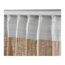 Gray and beige curtains Curtain Panel Ikea Aina Curtains Pair Ikea