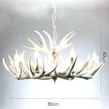 white antler chandelier white antler chandelier bed modern lamp lighting faux deer whitetail real whitetail antler