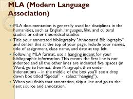 Prepare an Annotated Bibliography Mla Annotated Bibliography Template
