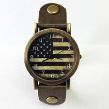 vintage style women s watches and style us flag watch american flag retro leather watch mens watch women watches