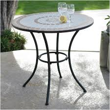 round slate patio table purchase 30 inch round bistro style wrought iron outdoor patio table with