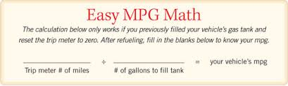 How To Figure Out Gas Mileage How To Calculate Gas Mileage Mother Earth News