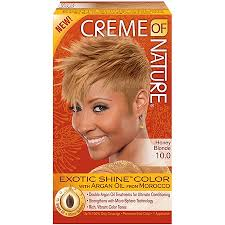 Creme Of Nature Permanent Hair Color Chart Creme Of Nature Exotic Shine Color Hair Color 10 0 Honey Blonde