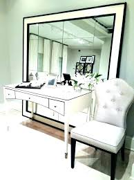 Office desk mirror White Wood Mirrored Office Furniture Small Mirror Desk Mirrored Office Large Size Of Rear View Home Mirrored Office Mirrored Office Busnsolutions Mirrored Office Furniture Antique Mirrored Keyhole Desk Furniture
