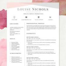 Professional Cv Template Word Download 80 Best Resume Ideas Images Creative Resume Templates Resume