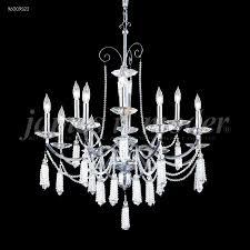 james r moder 96009s0j tassel 12 light 12 arm crystal chandelier in silver with swarovski crystal
