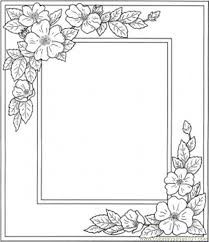 But you can control the border color using other border properties of the textfield. Printable Flower Coloring Pages Free Printable Coloring Page Photo Frame With Flowers Printable Flower Coloring Pages Flower Coloring Pages Printable Frames