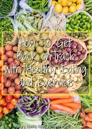 How To Get Back On Track With Healthy Eating And Exercise Hungry