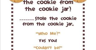 Who Stole The Cookie From The Cookie Jar Song