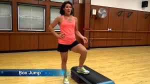 Bonnie: Peak Personal Trainer - Box Jump - YouTube