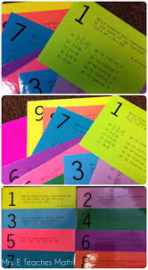 reviewing with stations maze activities polynomials stations maze