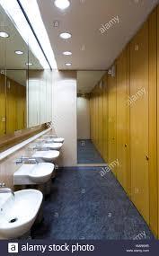 office restroom design. Modern Office Bathroom - Stock Image Restroom Design