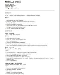 Flight Attendant Resume Example Free Templates Collection Flight Attendant  Resume