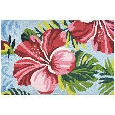 hibiscus jelly bean rug