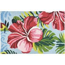 hibiscus jelly bean rug