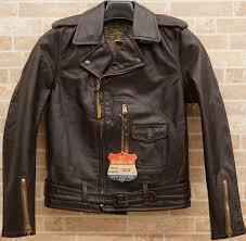 details about ralph lauren rrl x schott usa made limited edition leather biker jacket