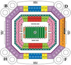 Miami Dolphins Hard Rock Stadium Seating Chart Exhaustive Miami Dolphins Stadium Seat View Dolphin Stadium