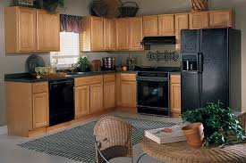 Brilliant Kitchen Color Ideas With Oak Cabinets And Black Appliances The Best Paint Colors In Design Inspiration