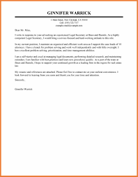 Legal Assistant Cover Letter Sop Proposal