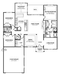 3 Bedroom Open Floor House Plans New Inspiration