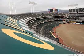 Tarps Are Up In Coliseum A Downer For Some Fans Sfgate